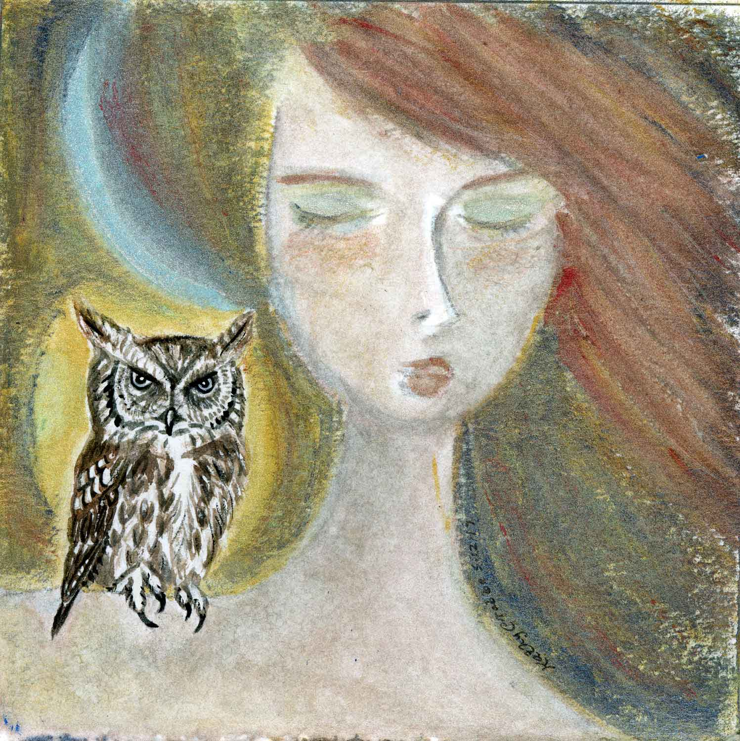 Owl-Magic by Kathy Crabbe