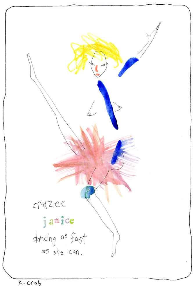 Crazy-Janice by Kathy Crabbe