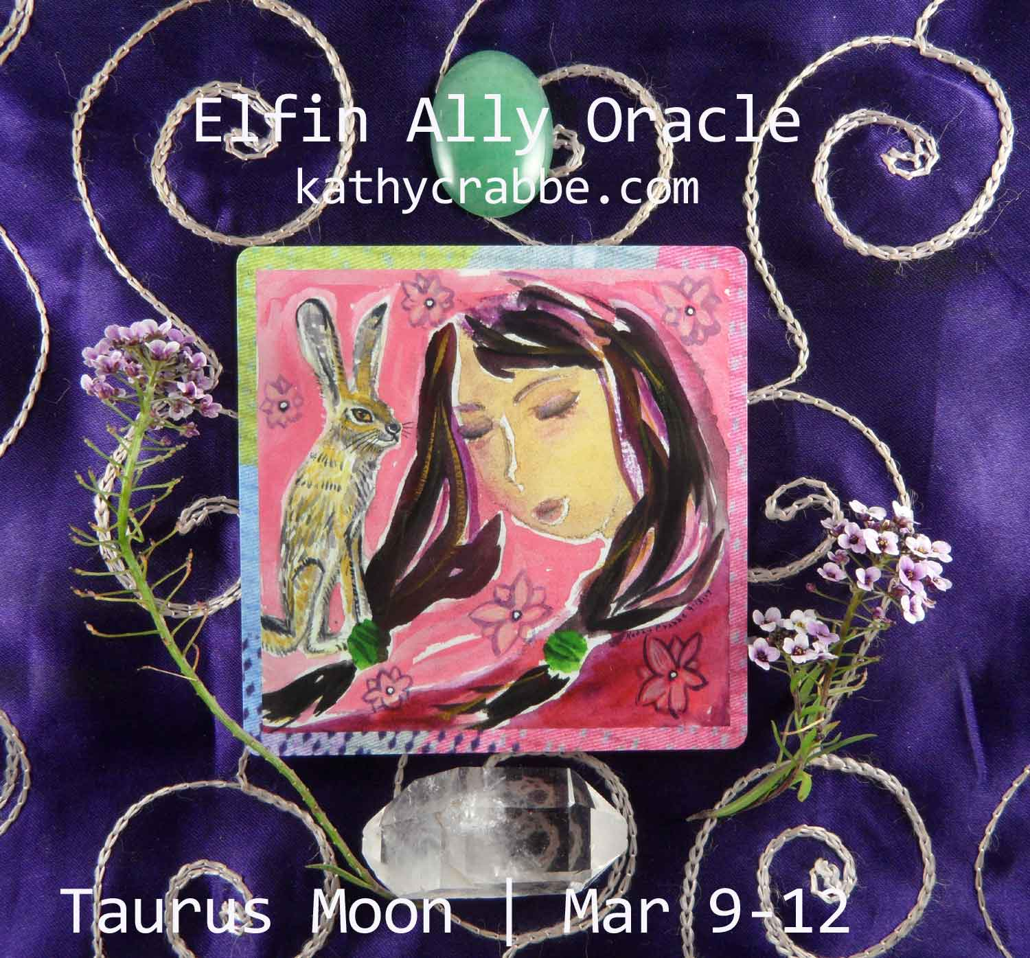 Taurus Moon-Vibes by Kathy Crabbe