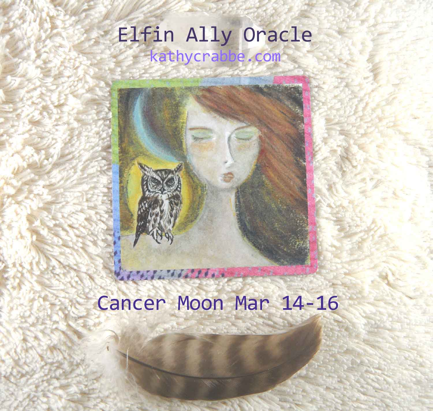 Cancer Moon-Vibes by Kathy Crabbe