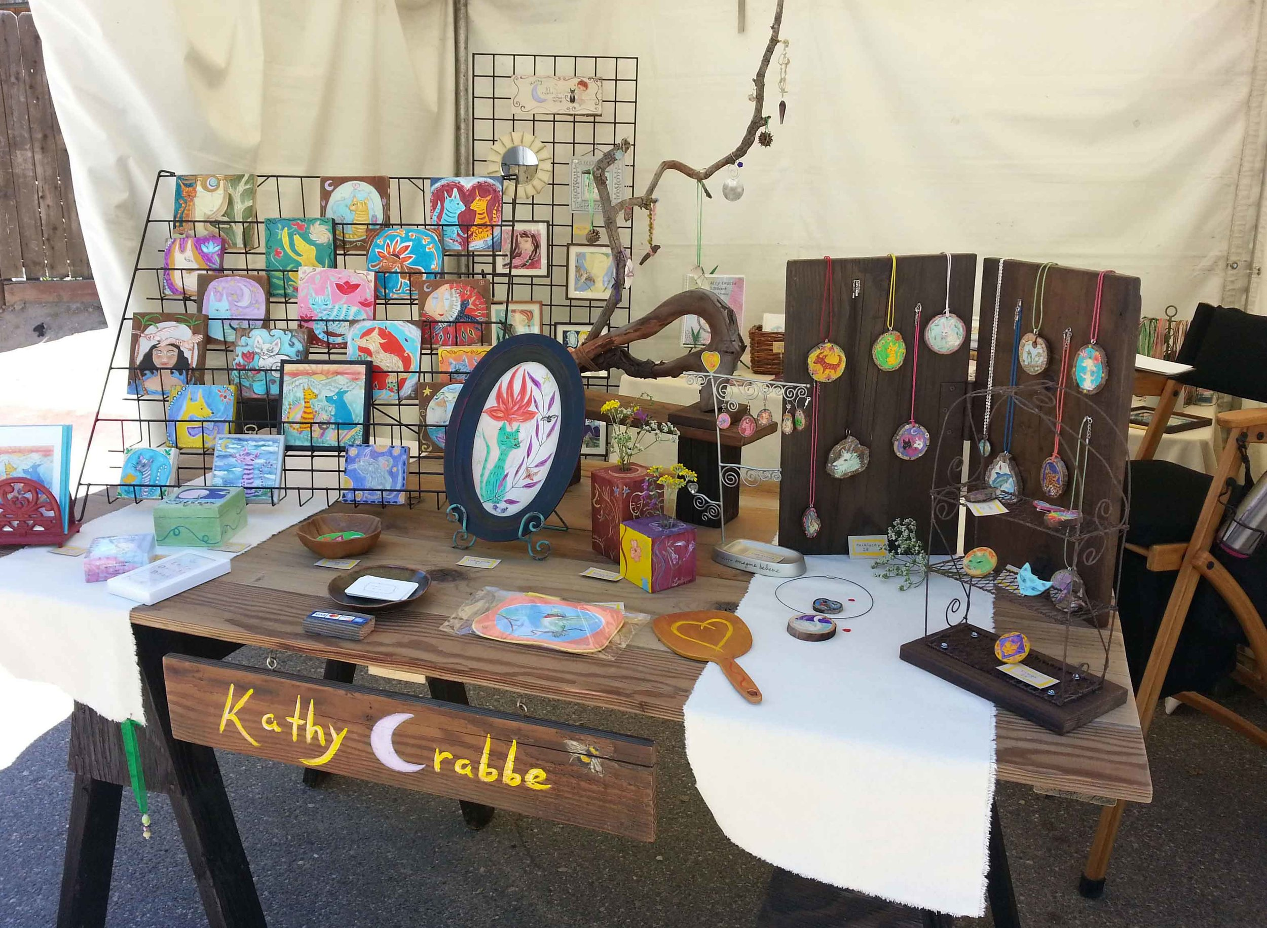 Temecula Art Fair Booth