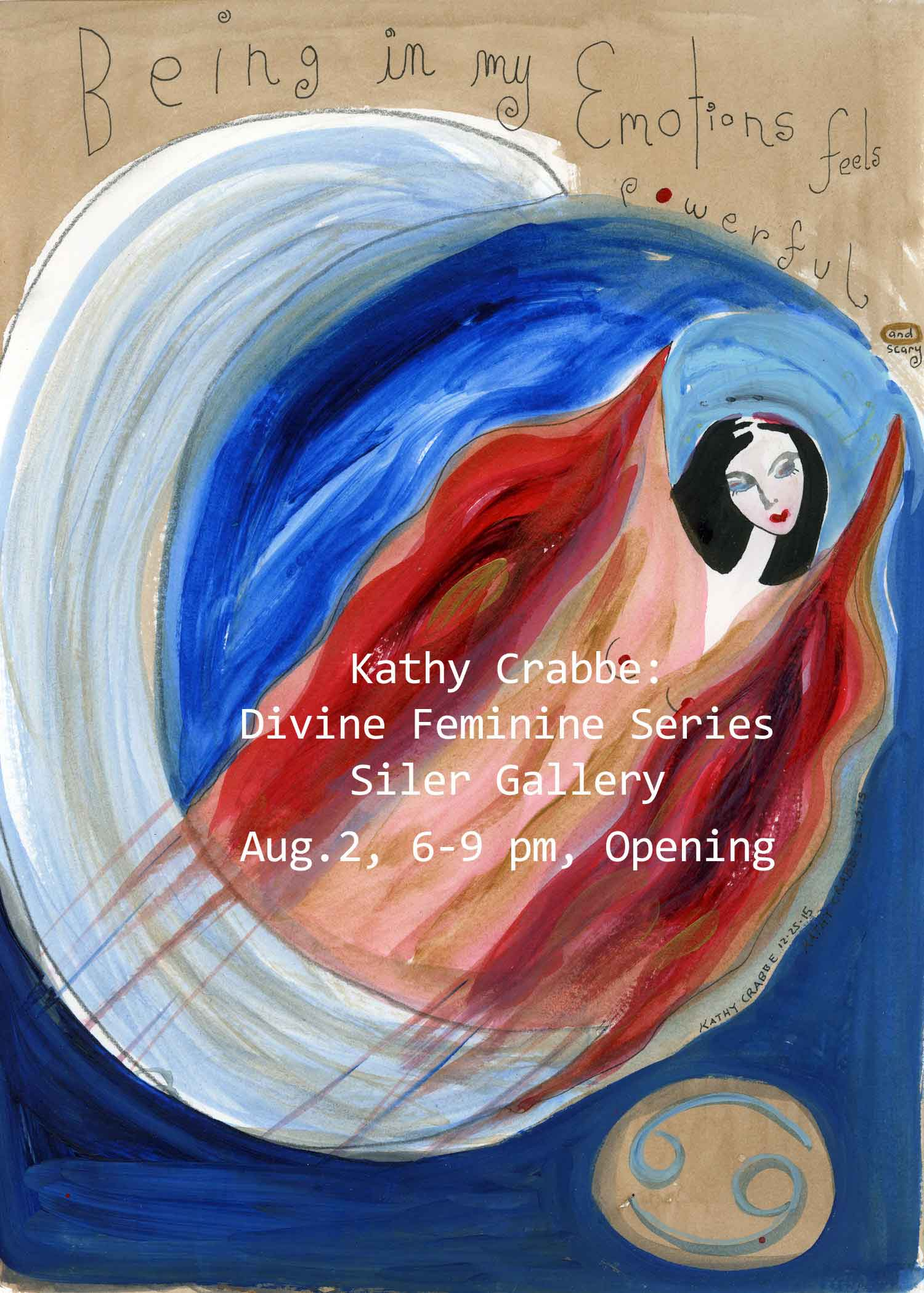 Divine Feminine Exhibition by Kathy Crabbe