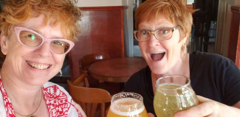 Kathy & Jen, Dieu du Ciel, Montreal