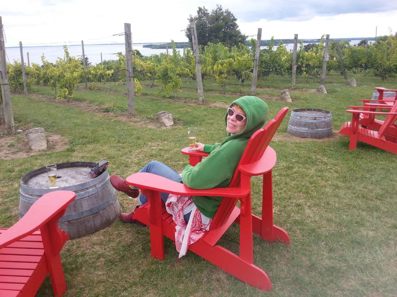 County Cider (Prince Edward County, Ontario, Canada) mmmmm…..luv a good cider!