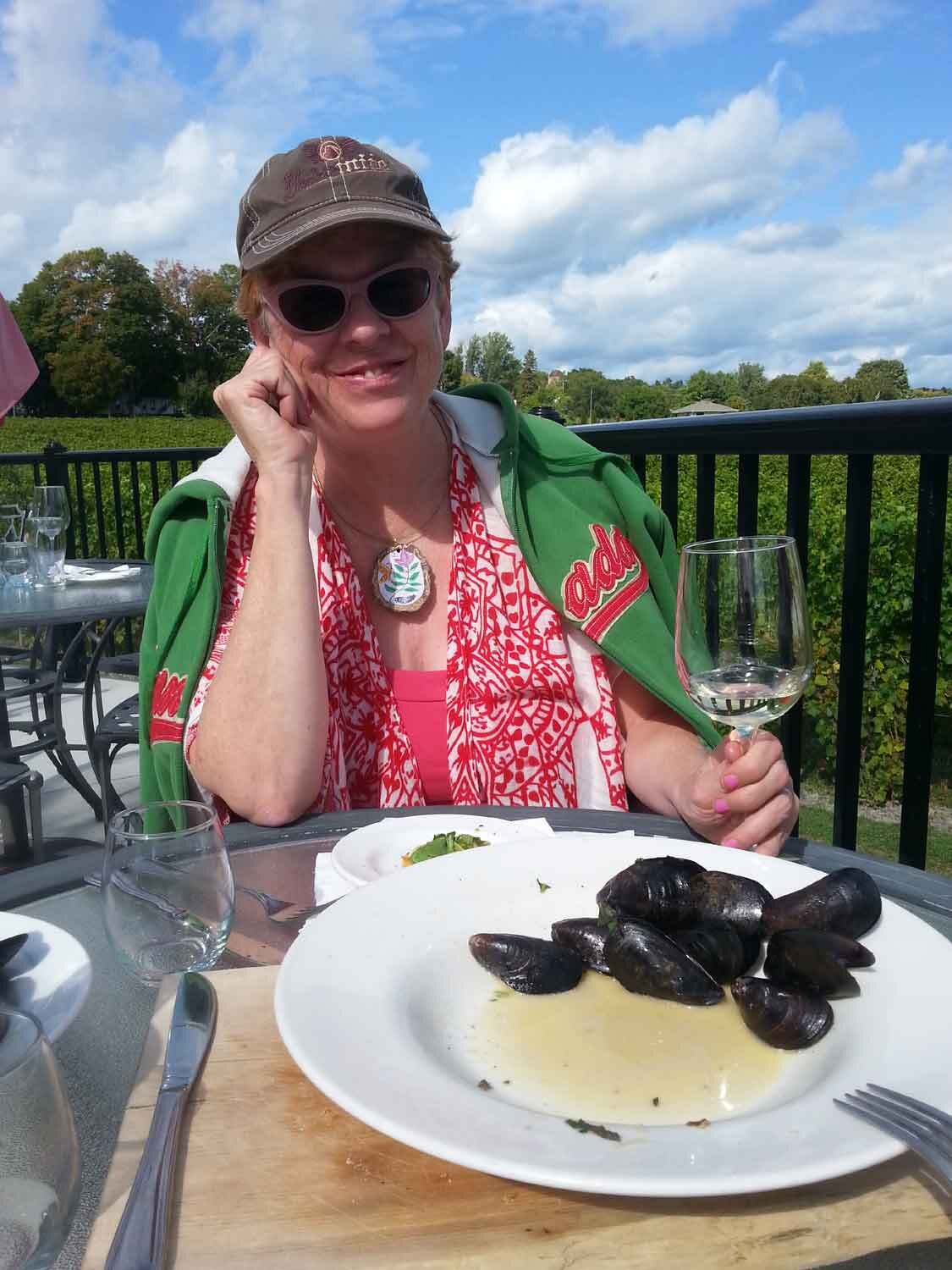 Waupous Winery (the 'County') - Birthday Lunch
