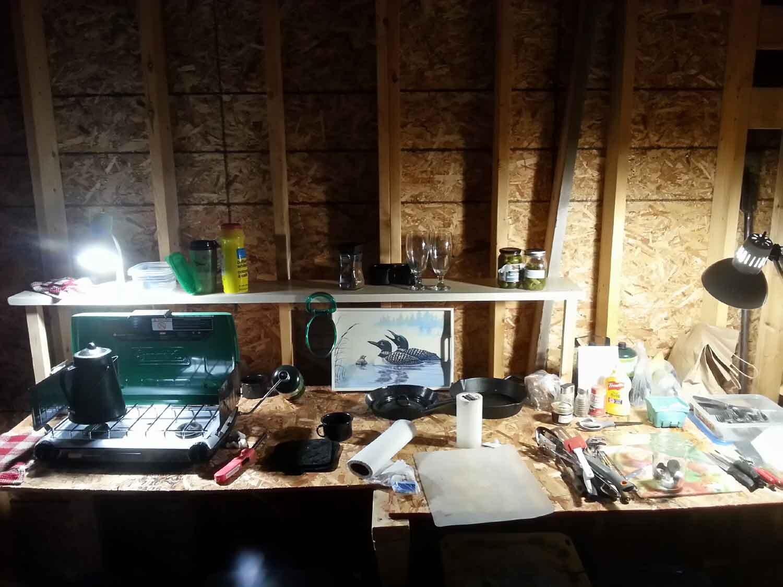 kitchen (new cottage)