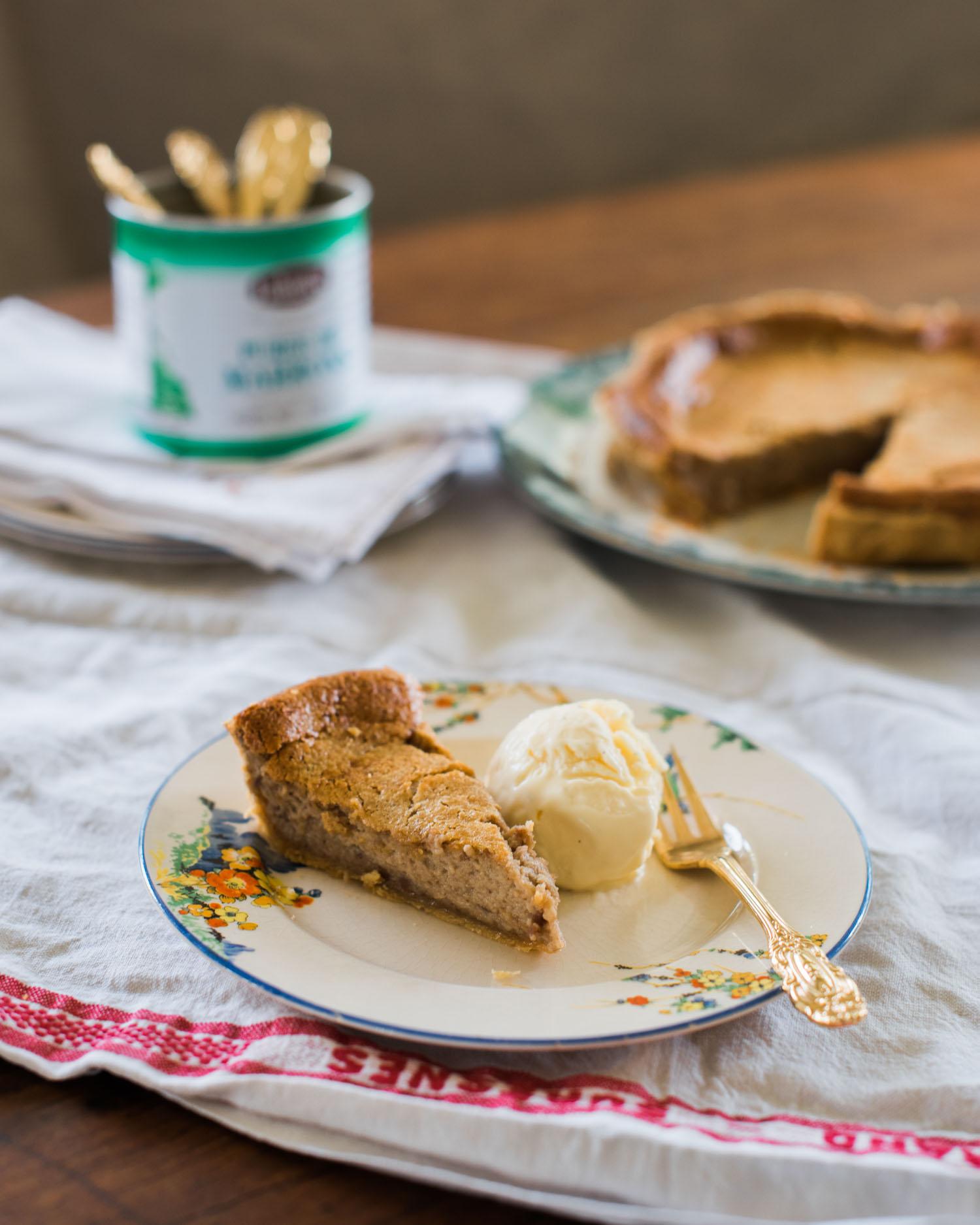 Tarte à la Crème de Marrons - Chestnut Cream Tart