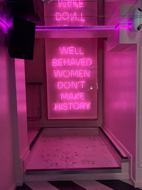 tonight josephine's instagrammable signage