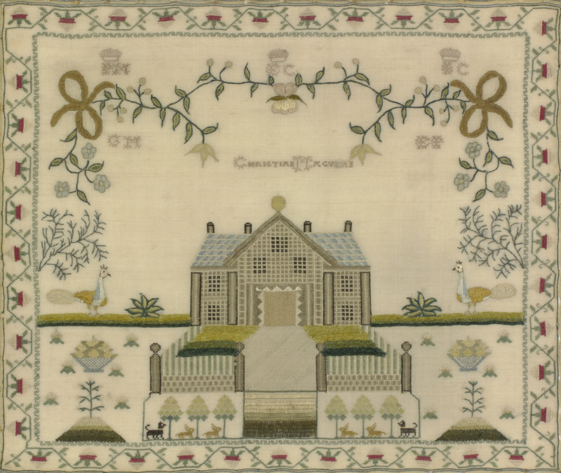 Christian Macvean,1800,Edinburgh. http://www.antiquesamplers.org/items/show/192
