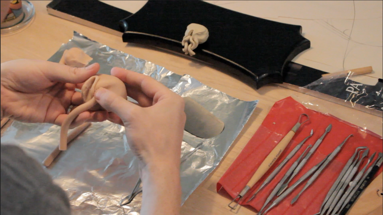 Adding the tenticles