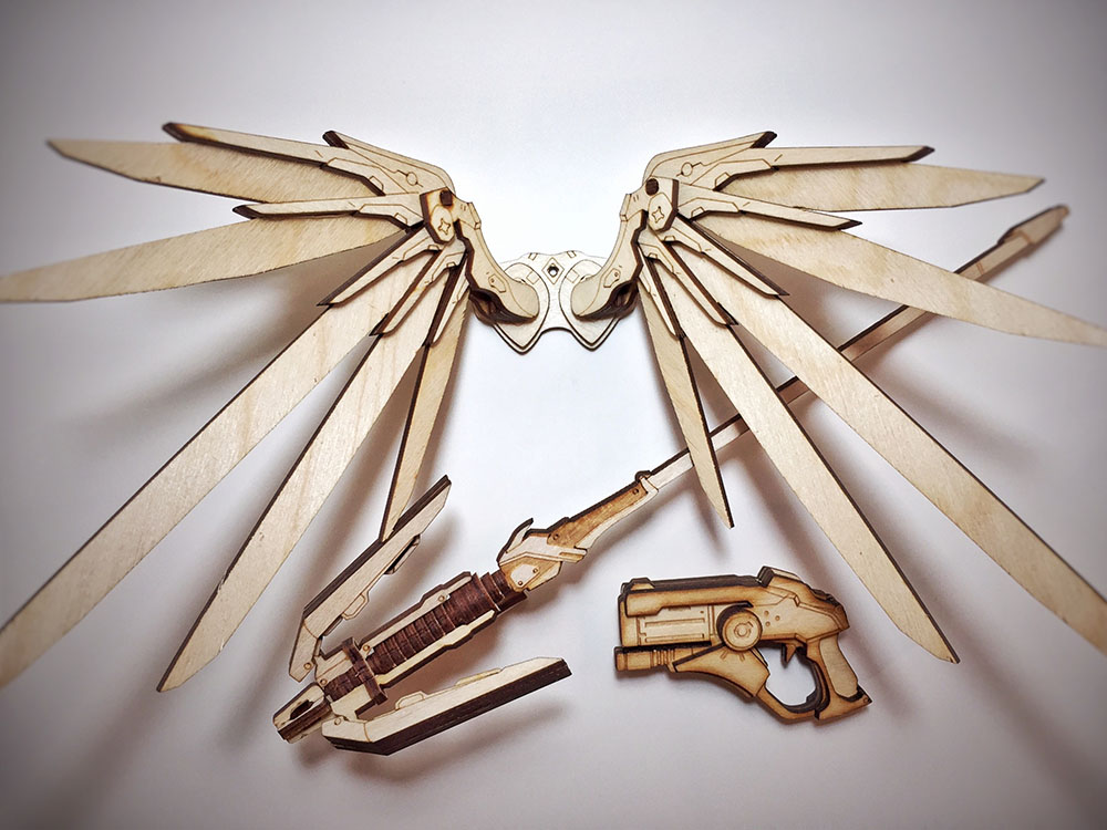Laser Cut Wooden Kits