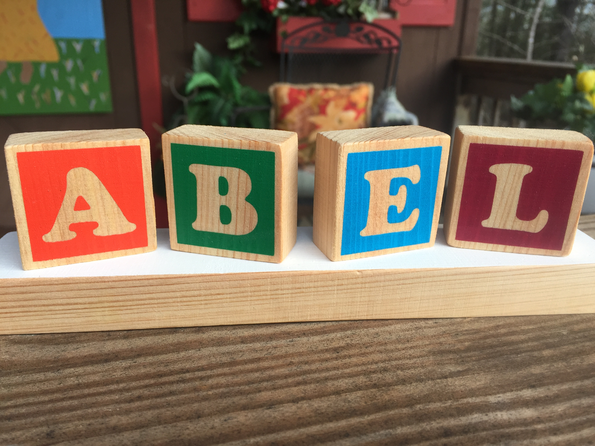 Copy of Baby Name Wooden Blocks