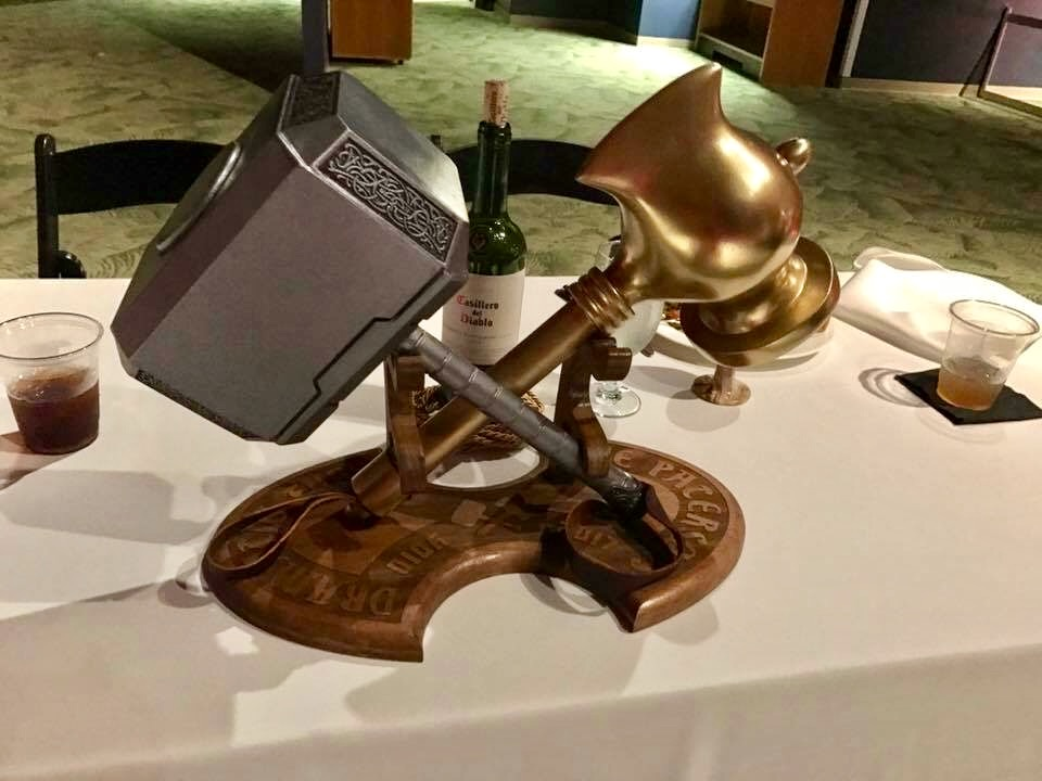 Copy of Thor Hammers and Stand