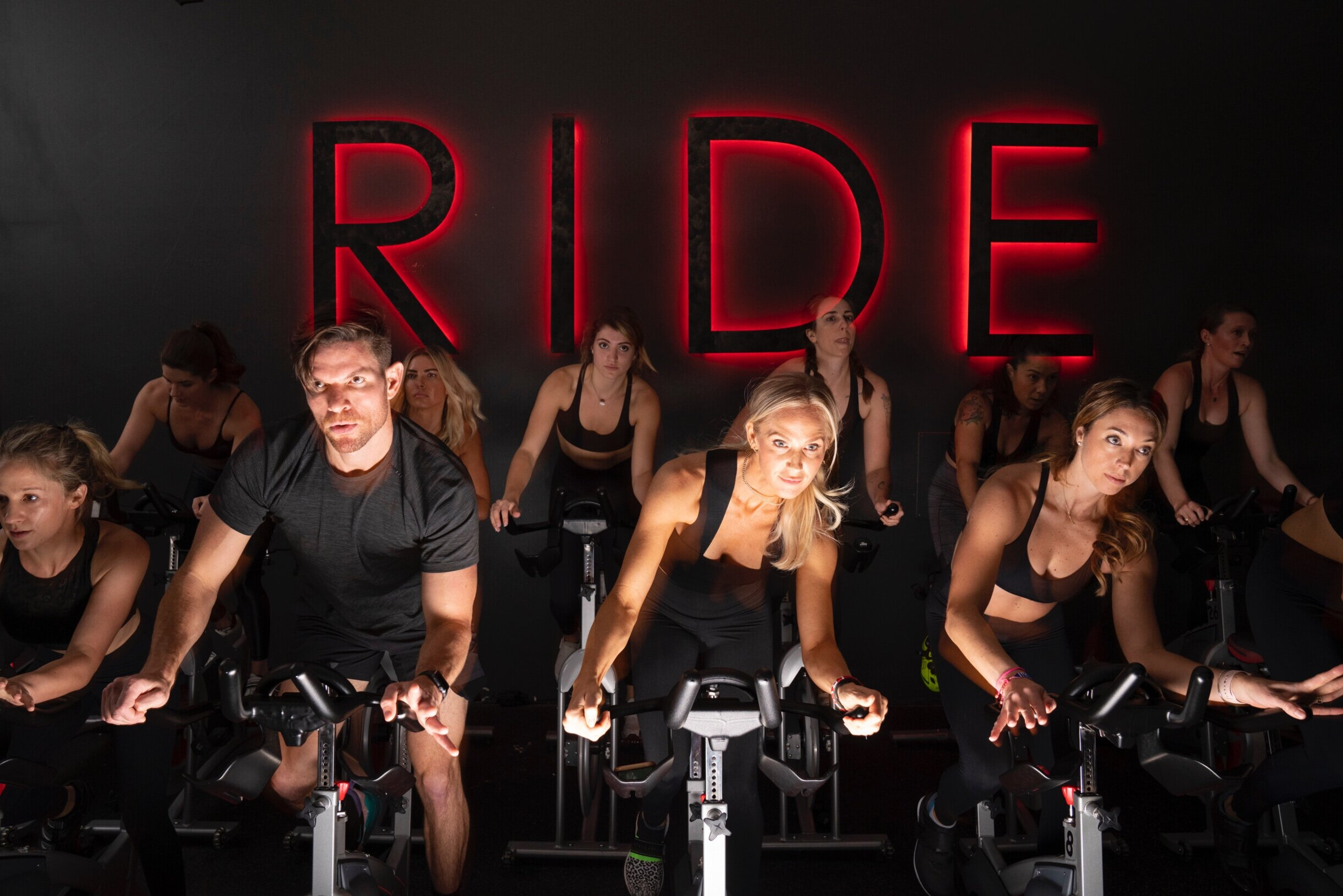 RIDE - A thrilling, effective and fat-burning cycling class led by inspirational instructors with beat-driven choreography involving the entire body. Each ride burns over 500+ calories per class while working the core and upper body using weights.How to Prep for your first ride.