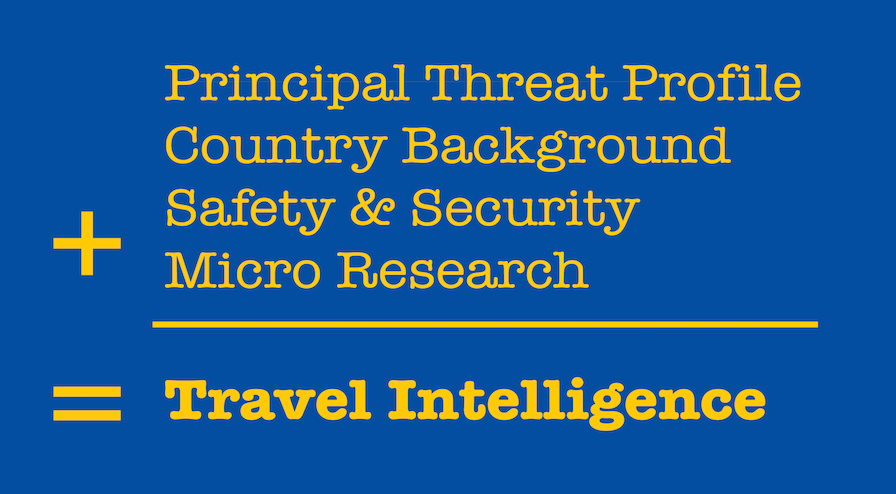 Travel Intelligence Executive Protection