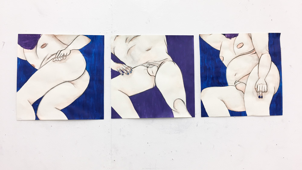 after Egon Schiele