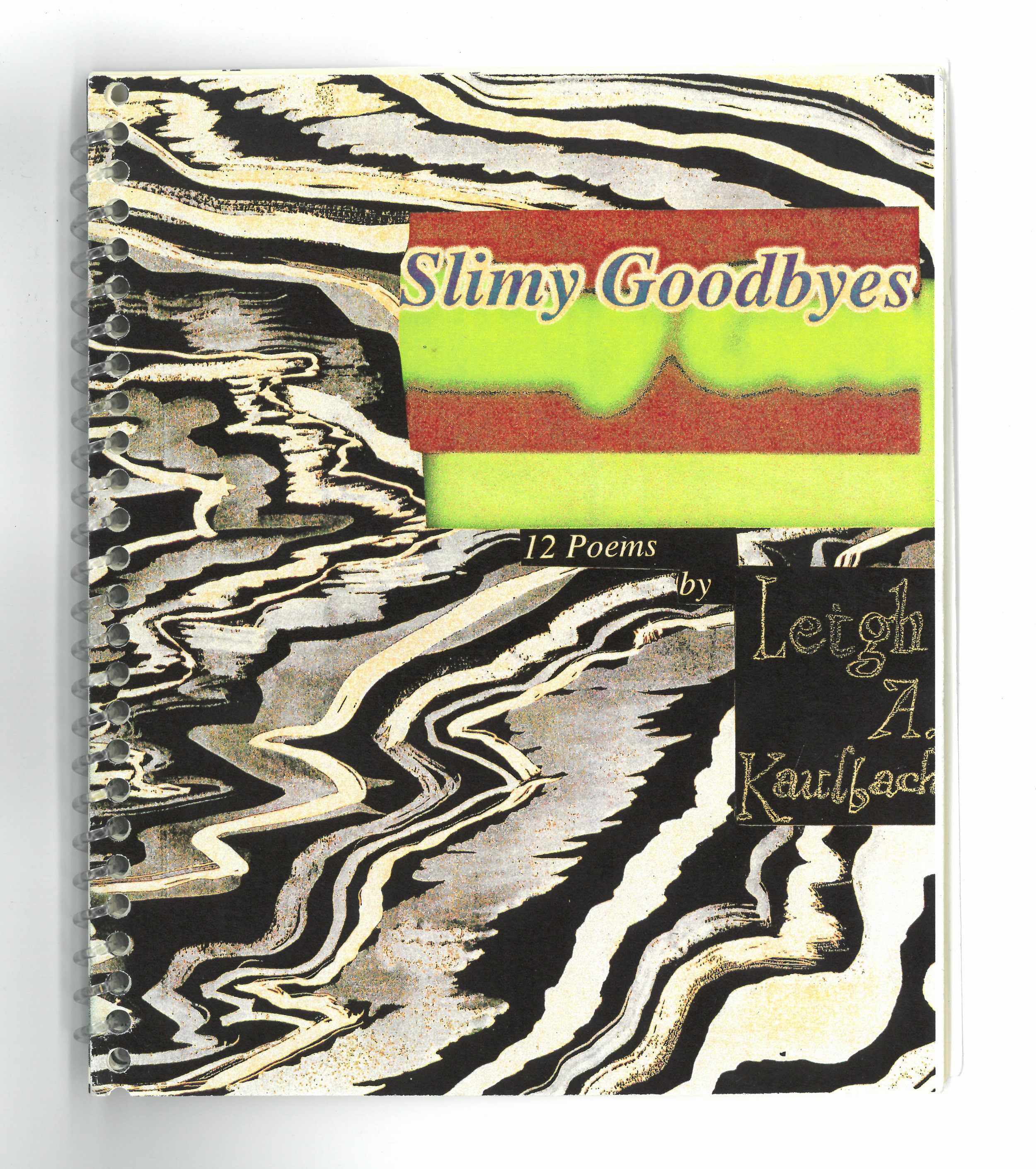 Copy of Slimy Goodbye (chapbook)