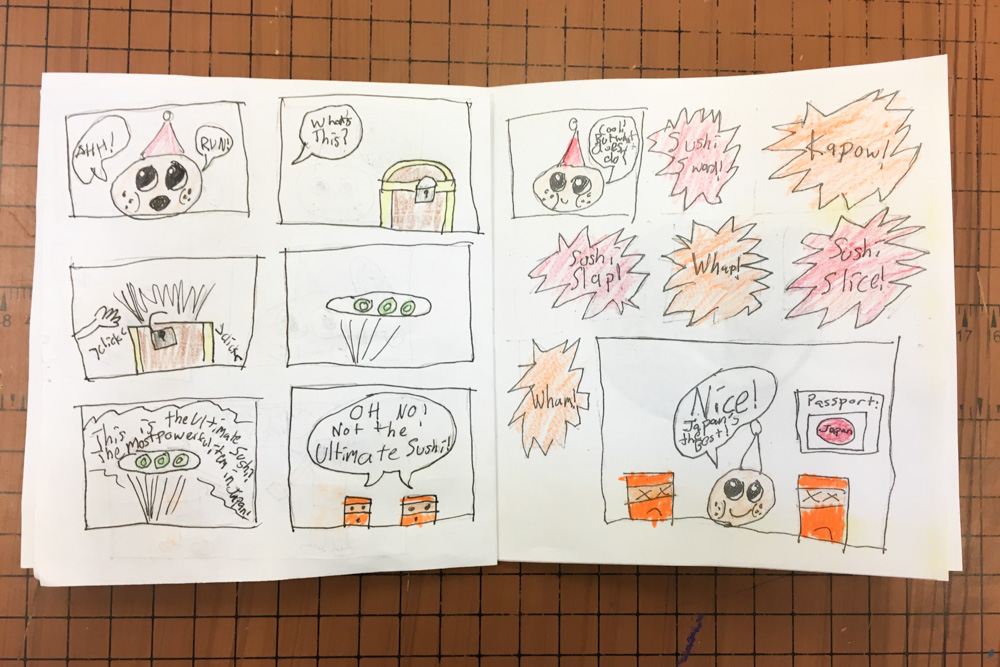 Comic Book Publishing Project