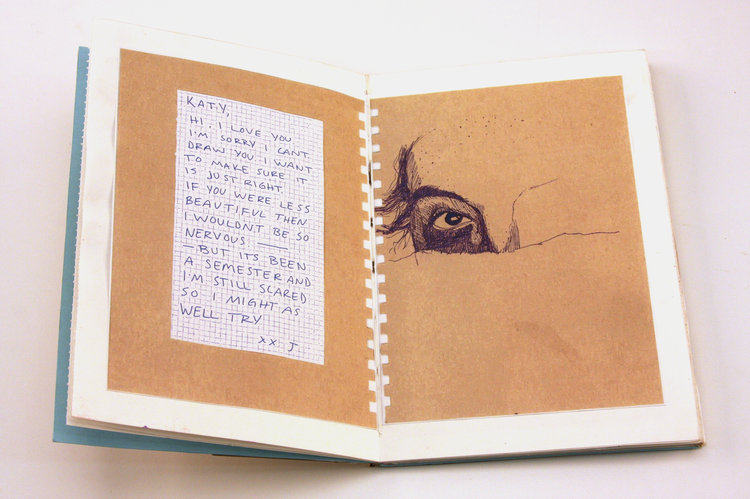 Space/Time/Narrative Drawing Book Project
