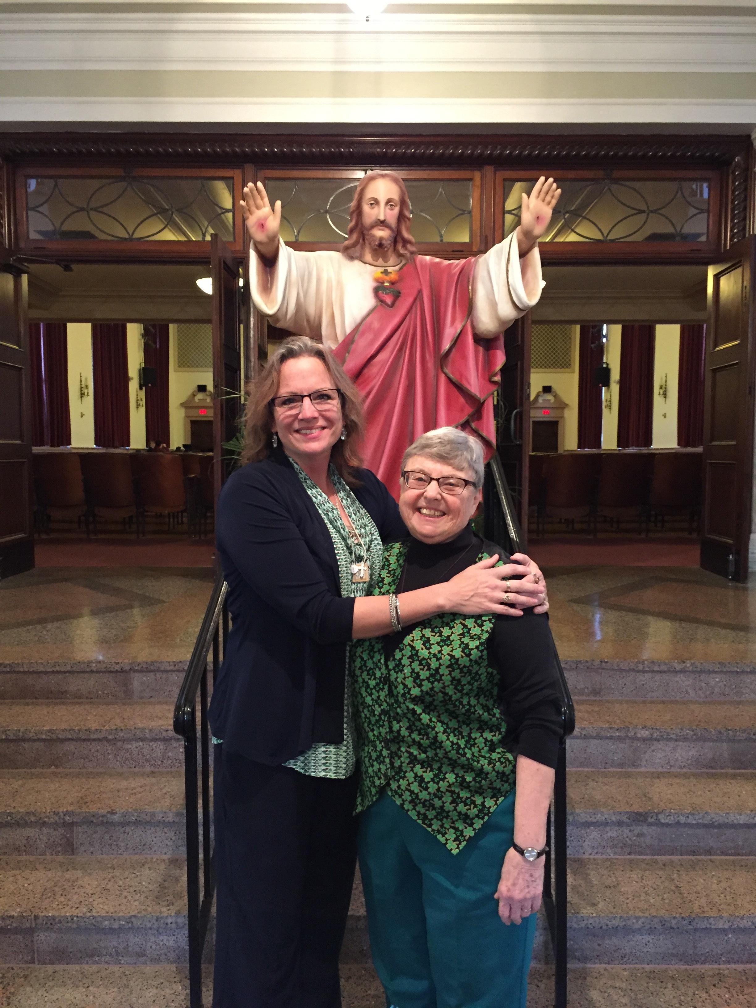 With Sister Mara at SHA