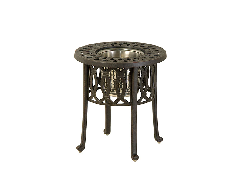 """20"""" Round Table with Ice Bucket"""