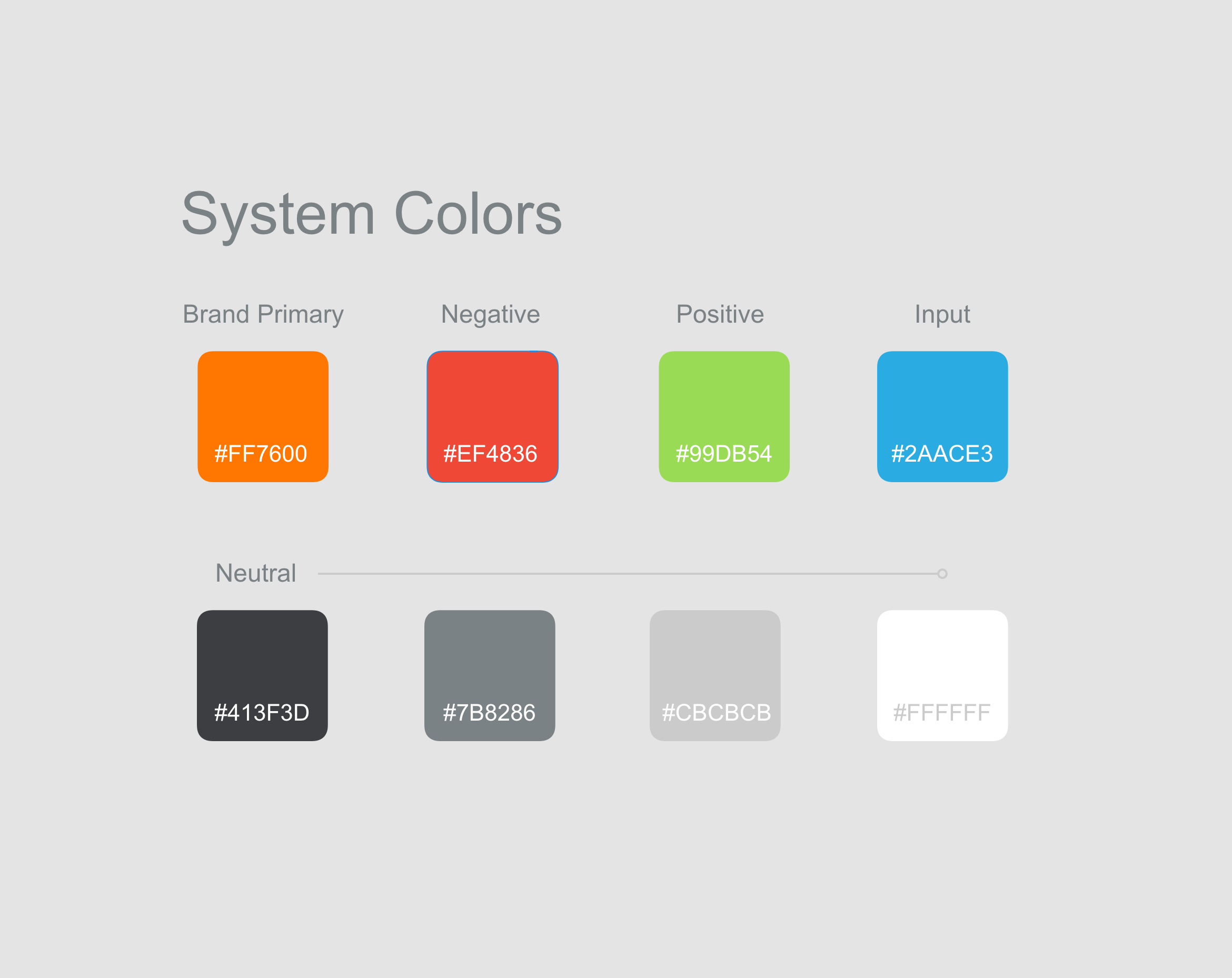 Intuitive Color Palette