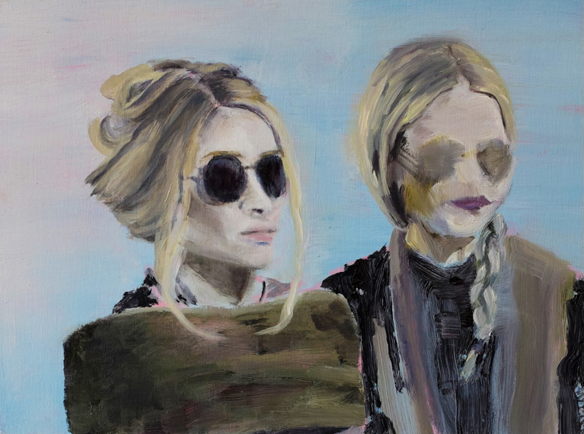 Olsens , 2016, oil on panel, 9 x 12 inches