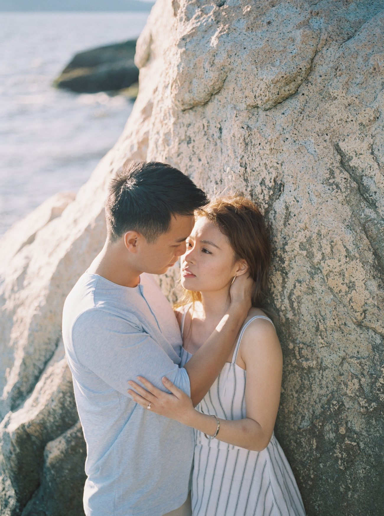 Vancouver seaside engagements