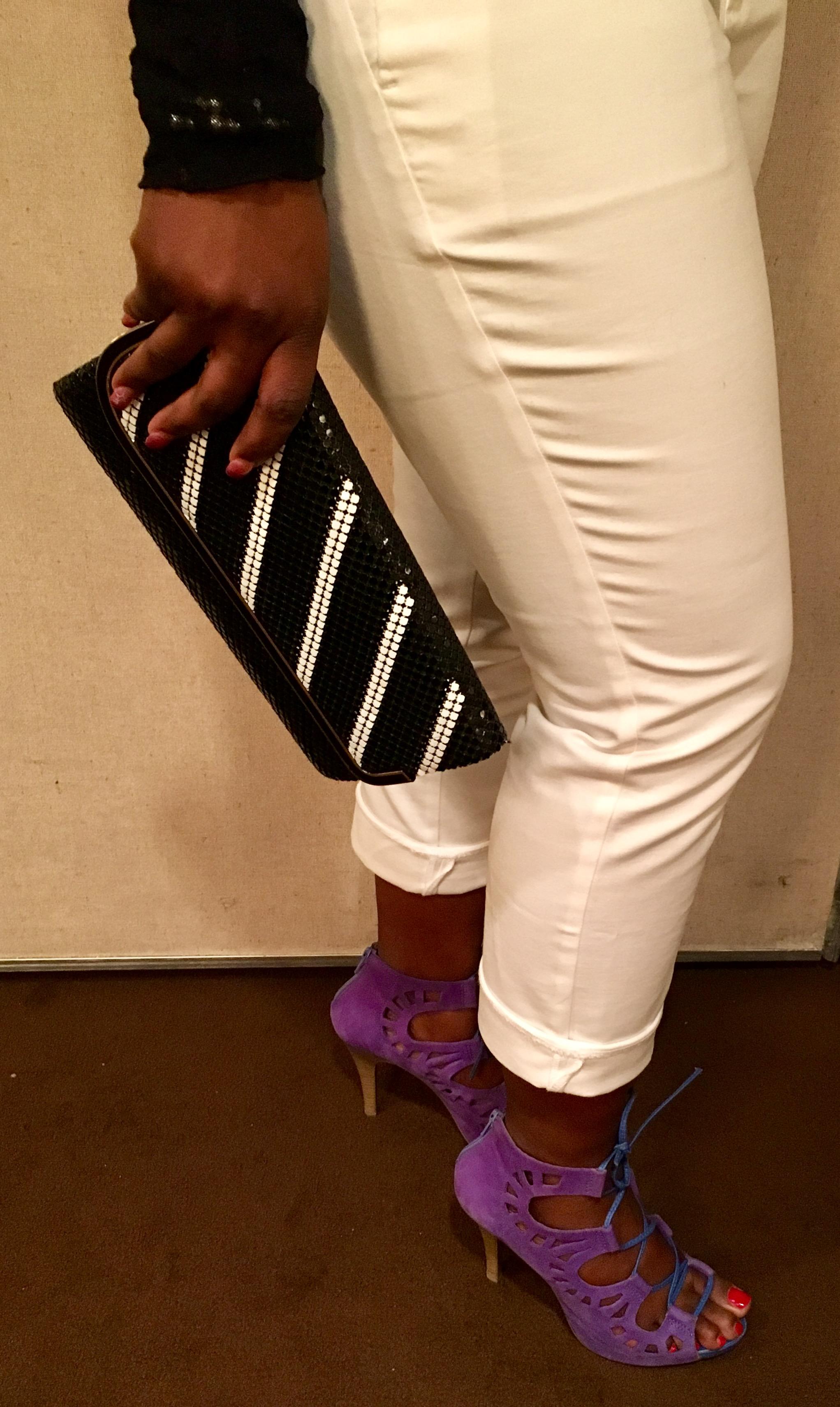 purple sandals the brazen closet