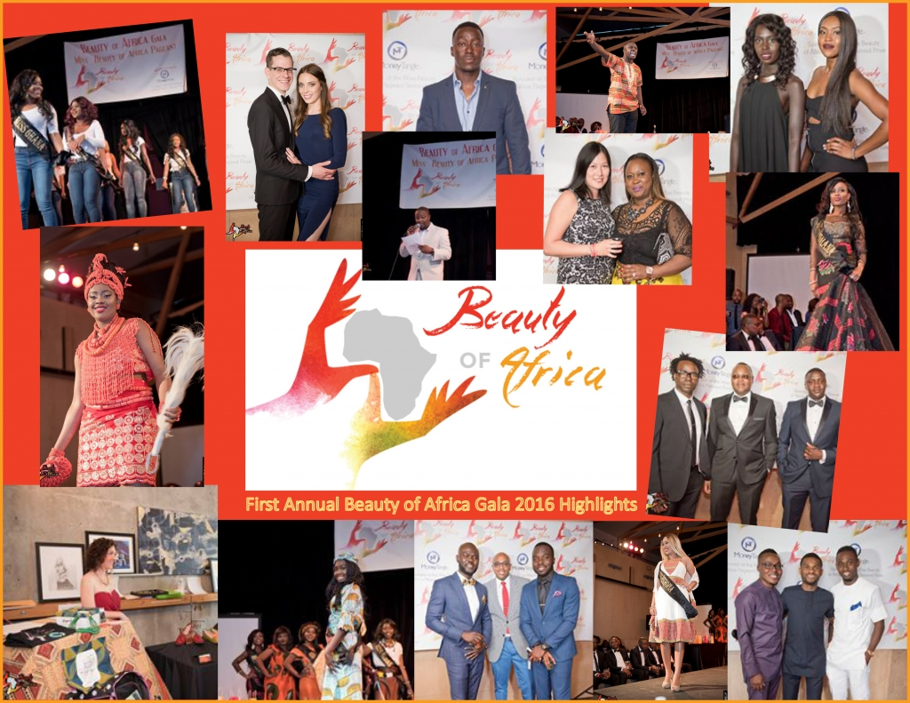 Highlights of The Beauty of Africa Gala & Beauty Pageant - 2016