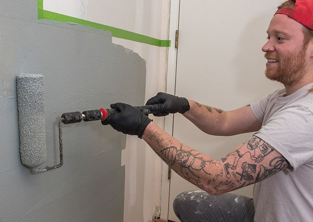 Tile is only a surface. Without proper prep and waterproofing you can run into moisture issues and potential failures. Here we have Ian showing the importance of protecting substrates in wet areas before the tile installation. We go the extra mile to ensure quality and longevity.
