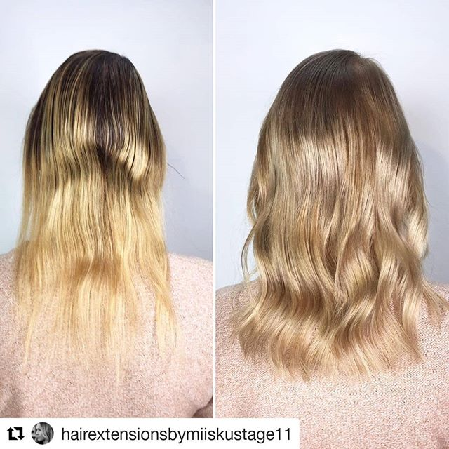 ⠀⠀⠀ ⠀⠀⠀ ▪️Transformation with color from Wella and strenght from Mago knots▪️ ⠀⠀⠀ #Repost @hairextensionsbymiiskustage11 (@get_repost) ・・・ . ▪️Hairextension with Magos▪️ @simply_natural_finland @magohair @wellanordic @stage11official . . . . . #simply_natural_finland #simplynaturalextensions #hair #photo #hår #hårförlängning #hårförtjockning #hiukset #ennenjajälkeen #helsinki #stage11 #stage11official #bestintown #ilovemyjob #hairextensionspecialist #hairofinstagram #naturalhair #hairgasm #behindthechair #hairobsessed #hairstyle #nioxin #fullerhair #oneshothairawards#blondehair#babyhighlights #simplynaturalmago #dailyfeedx