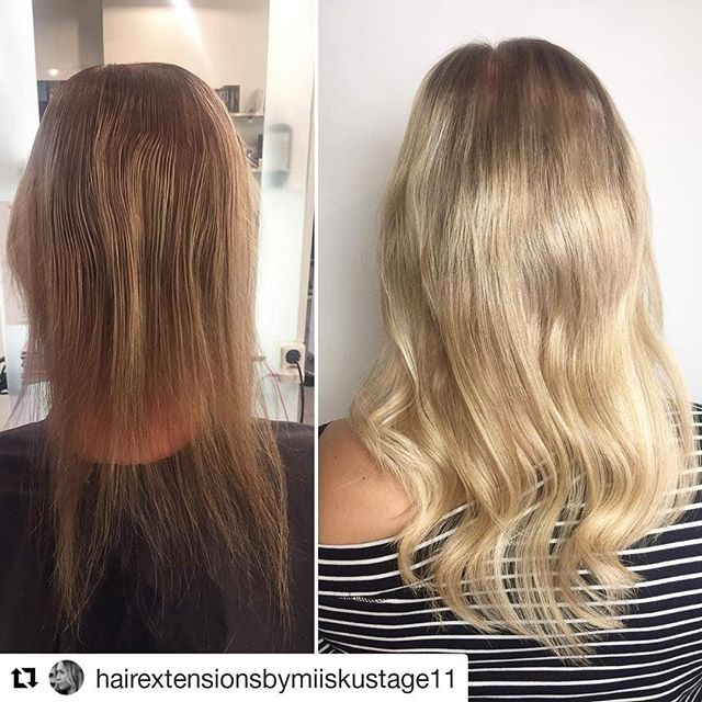 ㅤ full hairextension with prebonds and color ㅤ #Repost @hairextensionsbymiiskustage11 (@get_repost) . . -Hairextension with Magos- @simply_natural_finland @magohair  @wellanordic  @stage11official . . . . . #simply_natural_finland #simplynaturalextensions #hair #photo #har #harforlangning #harfortjockning #hiukset #ennenjajalkeen #helsinki #stage11 #stage11official #bestintown #ilovemyjob #hairextensionspecialist #hairofinstagram #naturalhair #hairgasm #behindthechair #hairobsessed #hairstyle #nioxin #fullerhair #oneshothairawards#blondehair#babyhighlights #simplynaturalmago #dailyfeedx