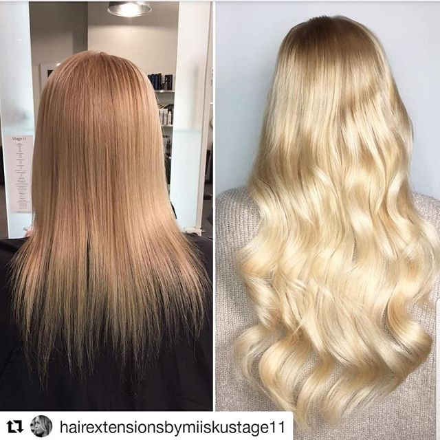 ㅤ Full hairextension made with prebonds, mixing two different shades of blonde hair ㅤ ㅤ #Repost @hairextensionsbymiiskustage11 (@get_repost) ・・・ . ▪️Hairextension with Magos▪️ @simply_natural_finland @magohair @wellanordic @stage11official . . . . . #simply_natural_finland #simplynaturalextensions #hair #photo #hår #hårförlängning #hårförtjockning #hiukset #ennenjajälkeen #helsinki #stage11 #stage11official #bestintown #ilovemyjob #hairextensionspecialist #hairofinstagram #naturalhair #hairgasm #behindthechair #hairobsessed #hairstyle #nioxin #fullerhair #oneshothairawards#blondehair#babyhighlights #simplynaturalmago #dailyfeedx