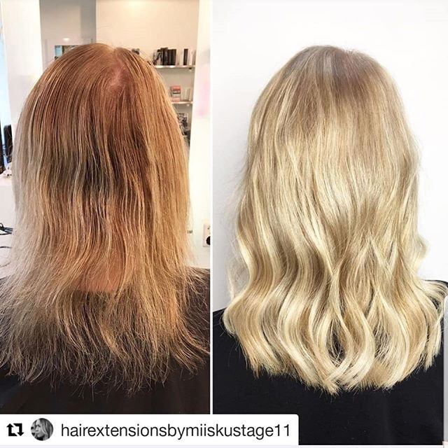 ㅤ Before and after✨ ㅤ #Repost @hairextensionsbymiiskustage11 (@get_repost) ・・・ . ▪️Hairextension with Magos▪️ @simply_natural_finland @magohair @wellanordic @stage11official . . . . . #simply_natural_finland #simplynaturalextensions #hair #photo #hår #hårförlängning #hårförtjockning #hiukset #ennenjajälkeen #helsinki #stage11 #stage11official #bestintown #ilovemyjob #hairextensionspecialist #hairofinstagram #naturalhair #hairgasm #behindthechair #hairobsessed #hairstyle #nioxin #fullerhair #oneshothairawards#blondehair#babyhighlights #simplynaturalmago #dailyfeedx