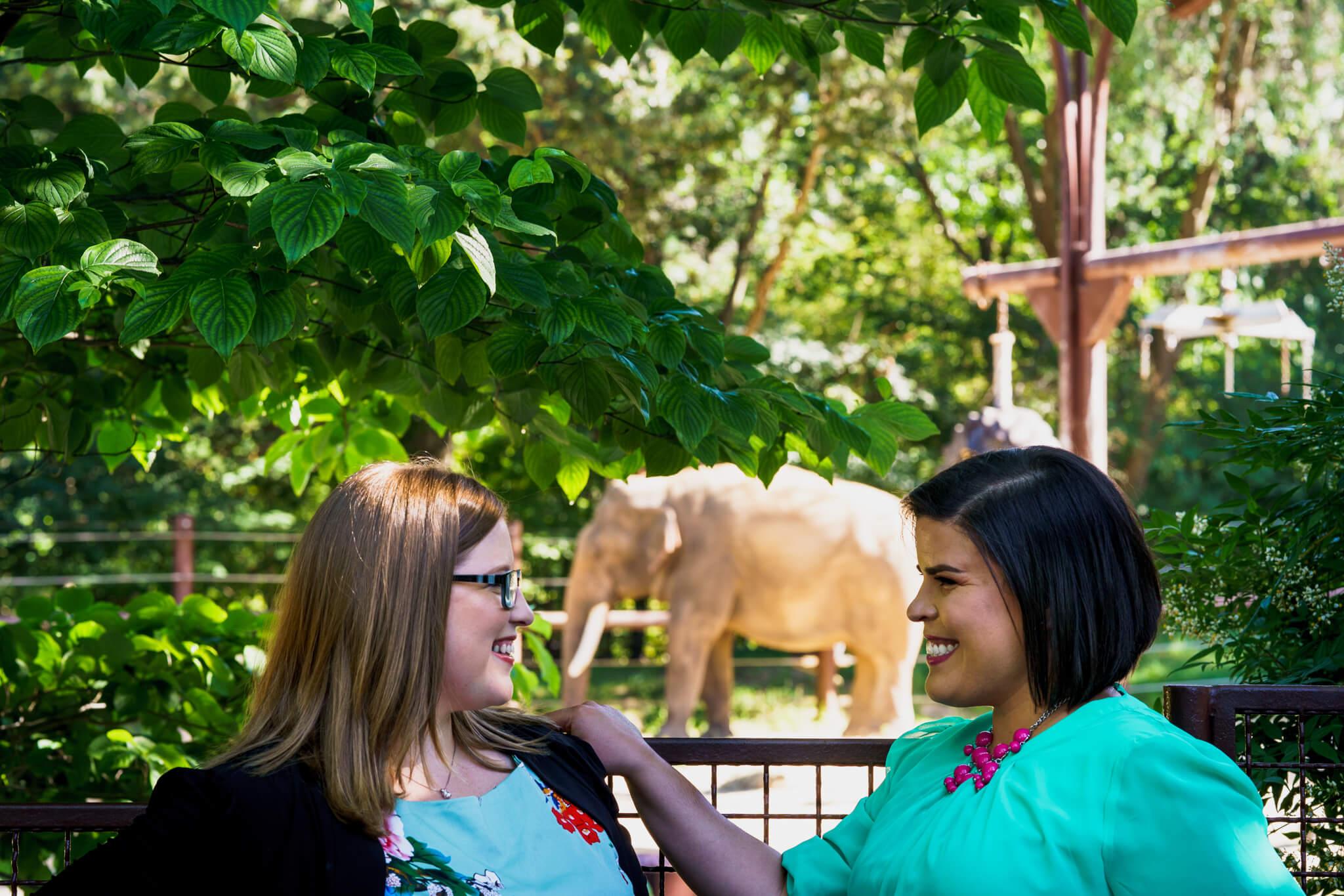 Lacey Stephanie Washington DC National Zoo Engagement Elephants Pandas Seals-017.jpg