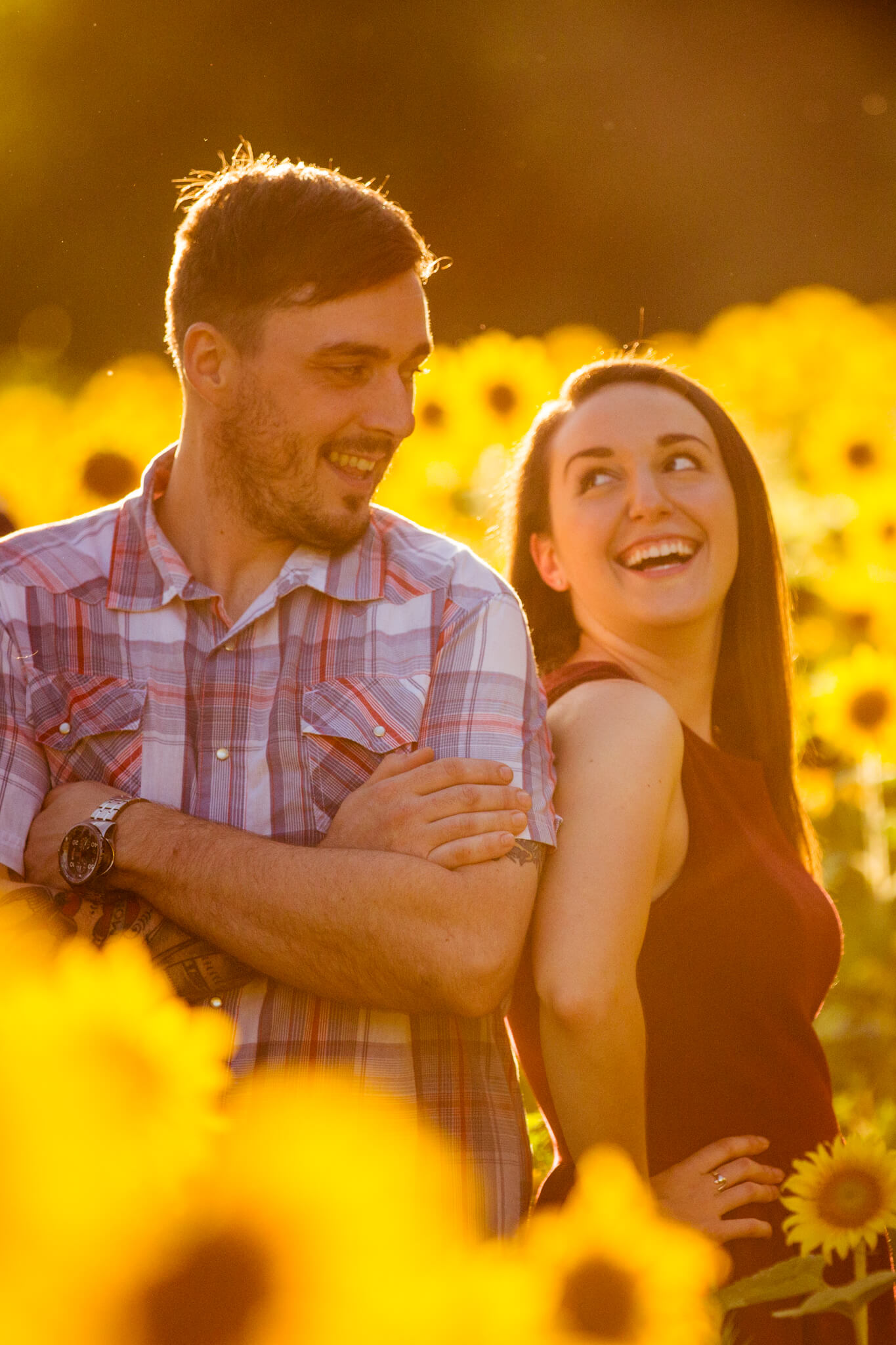 Alysia Jerad Sunflower Field Engagement-1.jpg