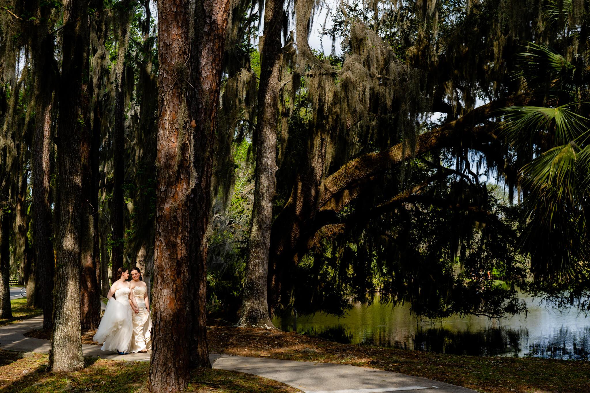 Catherine Laura University of Florida Wedding Smathers Library Reception Baughman Center Ceremony Lake Alice Wedding-18.jpg