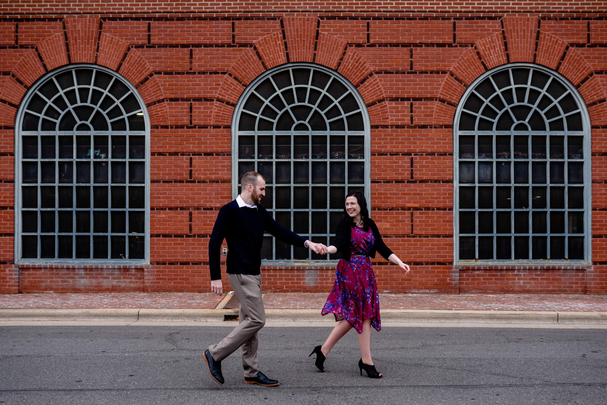 Kelly Matt Old Town Engagement Yellow Wall Alley Prince Street Wilkes Tunnel Alexandria Waterfront-3.jpg