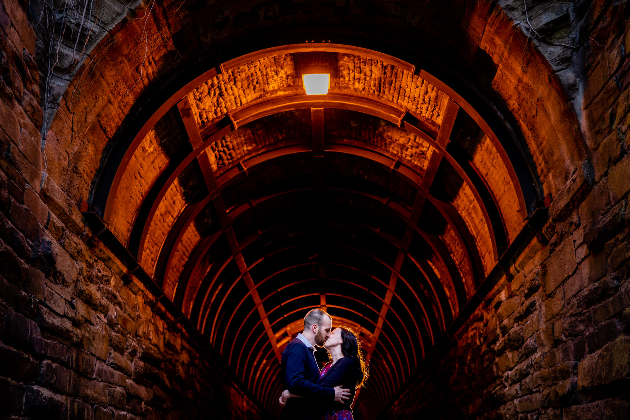 Kelly Matt Old Town Engagement Yellow Wall Alley Prince Street Wilkes Tunnel Alexandria Waterfront-8.jpg