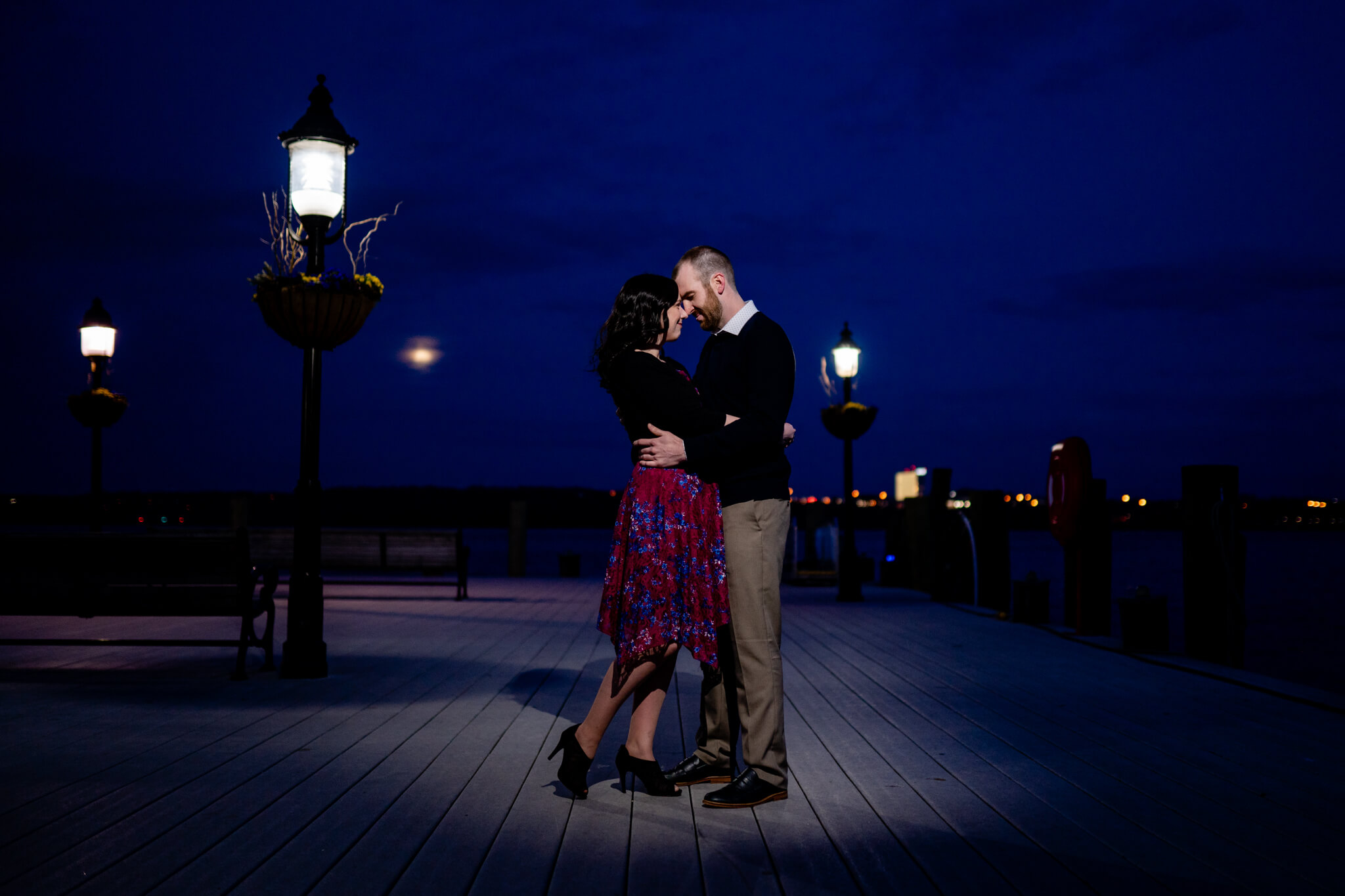 Kelly Matt Old Town Engagement Yellow Wall Alley Prince Street Wilkes Tunnel Alexandria Waterfront-10.jpg