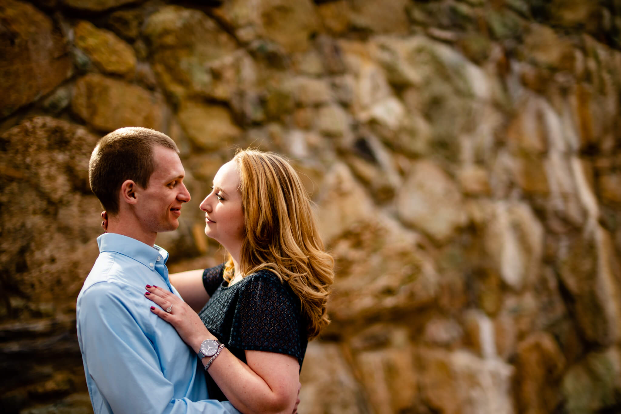 Liz Kevin Bluemont Vineyards Engagement Session Winery Portrait Session Loudon Engaged-8.jpg