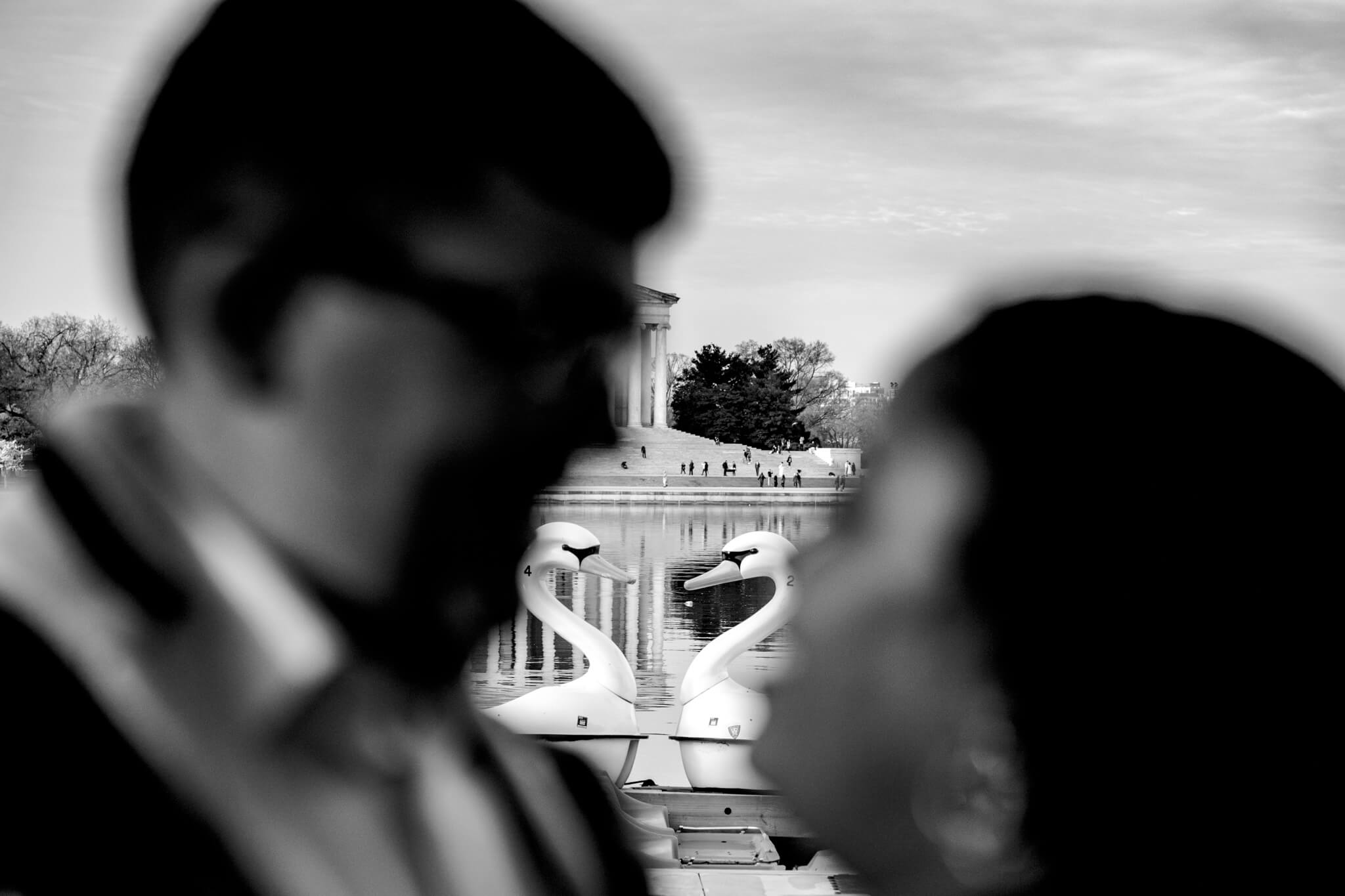 Liz Joe DC Cherry Blossom Engagement Tidal Basin Jefferson Memorial Washington Monument Engaged13.jpg