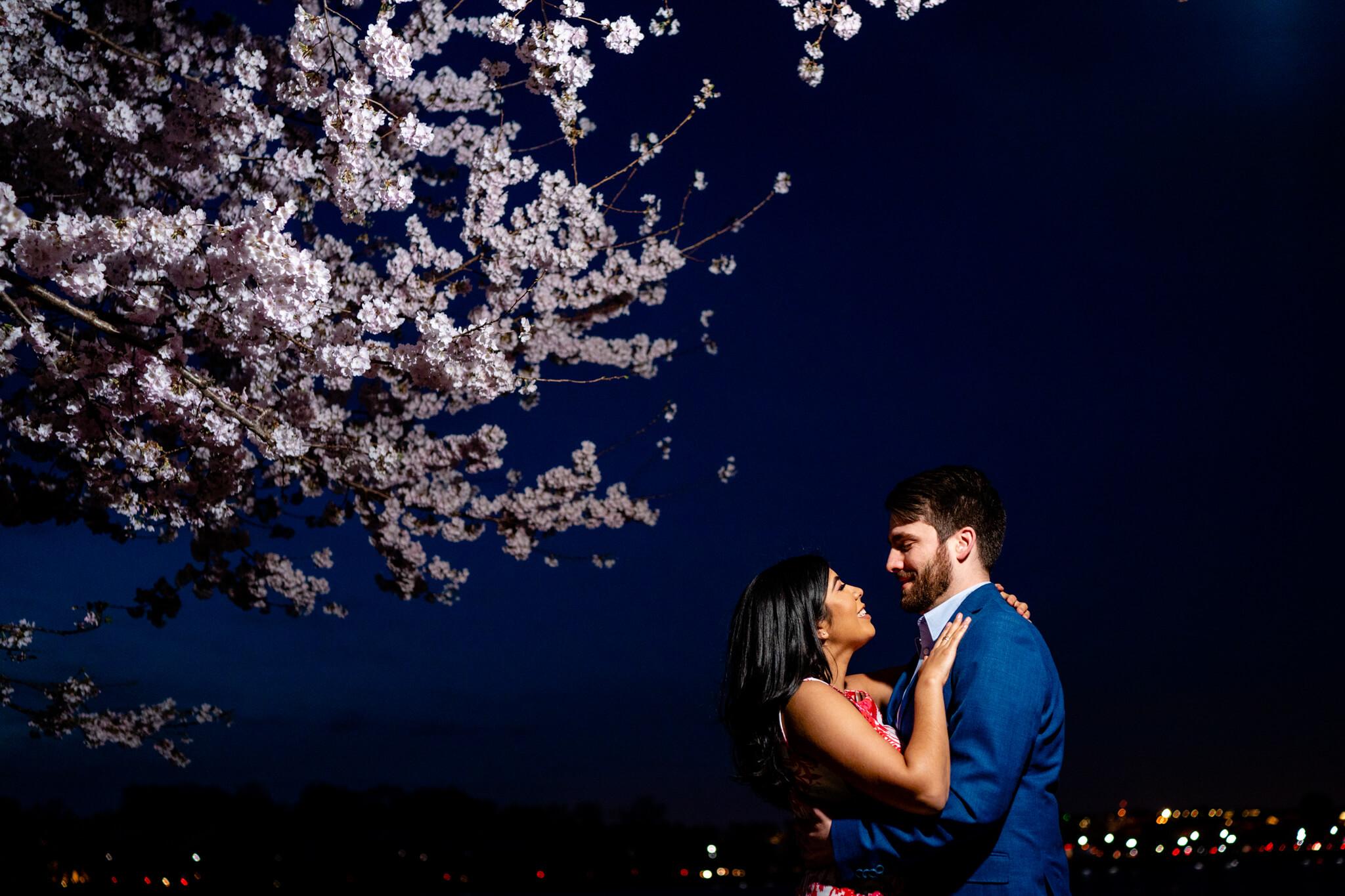 Danielle Michael DC Cherry Blossom Engagement Tidal Basin Washington Monument Engaged NYE Wedding Inspiration-5.jpg