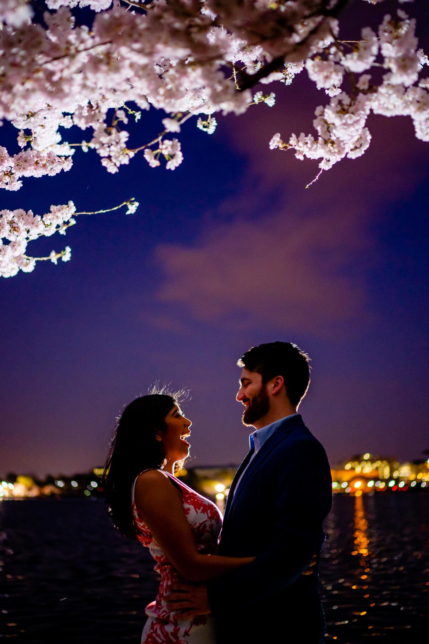 Danielle Michael DC Cherry Blossom Engagement Tidal Basin Washington Monument Engaged NYE Wedding Inspiration-7.jpg