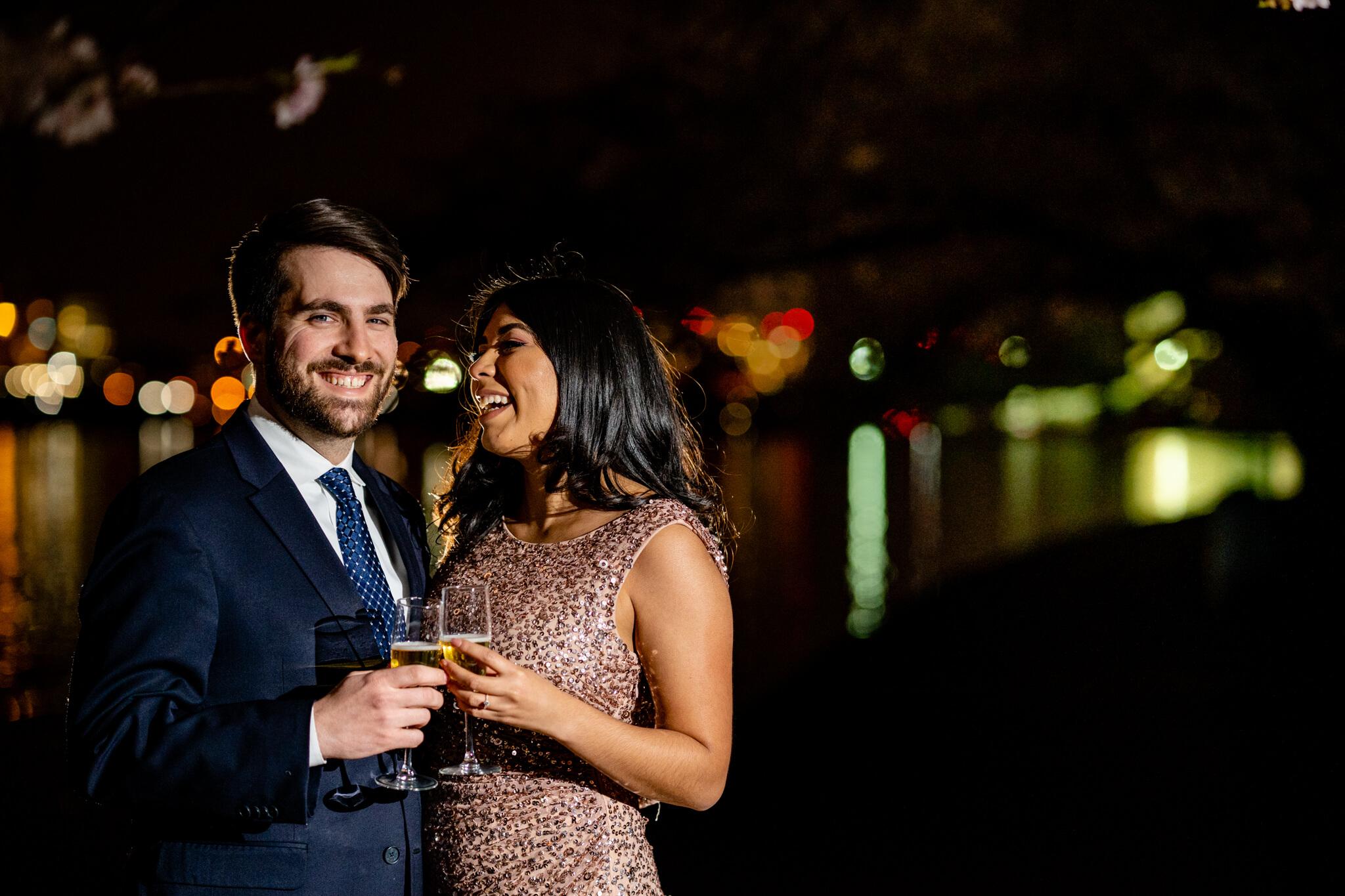 Danielle Michael DC Cherry Blossom Engagement Tidal Basin Washington Monument Engaged NYE Wedding Inspiration-8.jpg