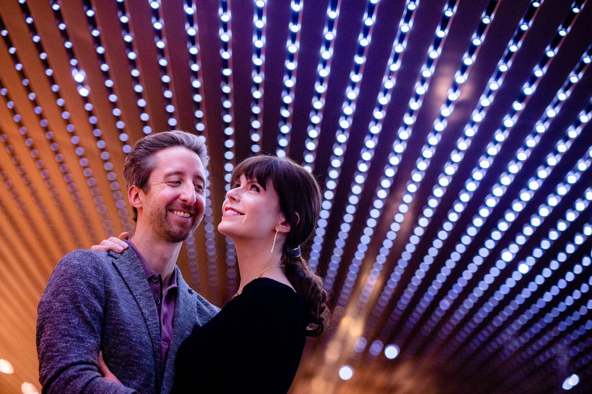 National Gallery of Art Engagement Creative Couple Washington DC Creative Portrait-9.jpg