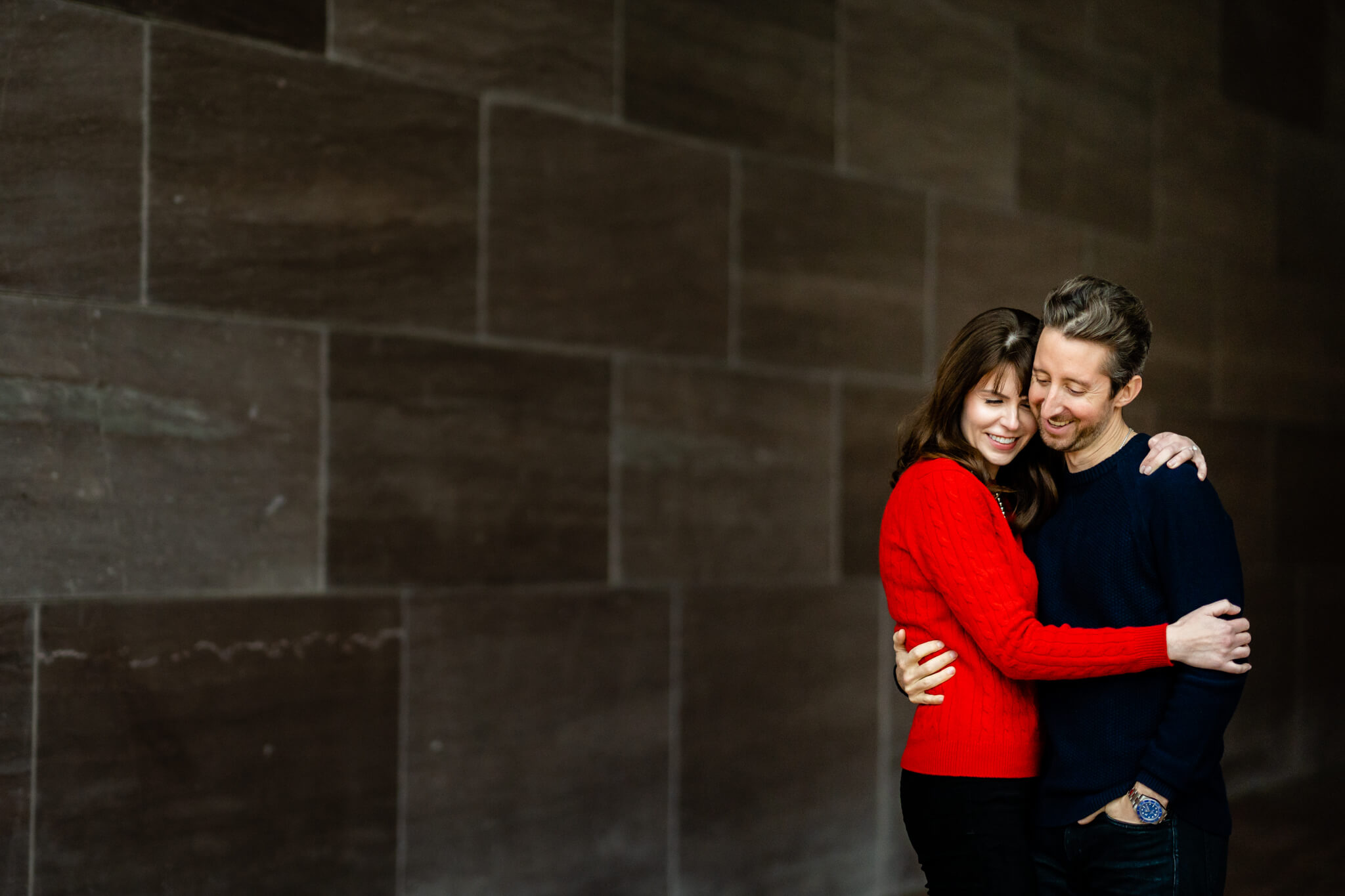 National Gallery of Art Engagement Creative Couple Washington DC Creative Portrait-11.jpg