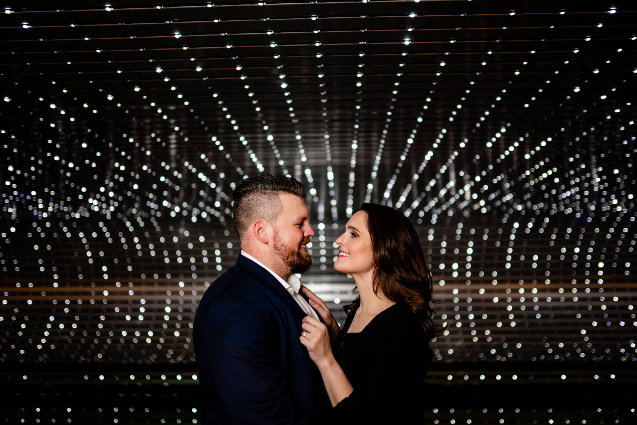 National Gallery East Engagement Session DC Engaged Art Museum Engagement Winter Engagement Session-7.jpg