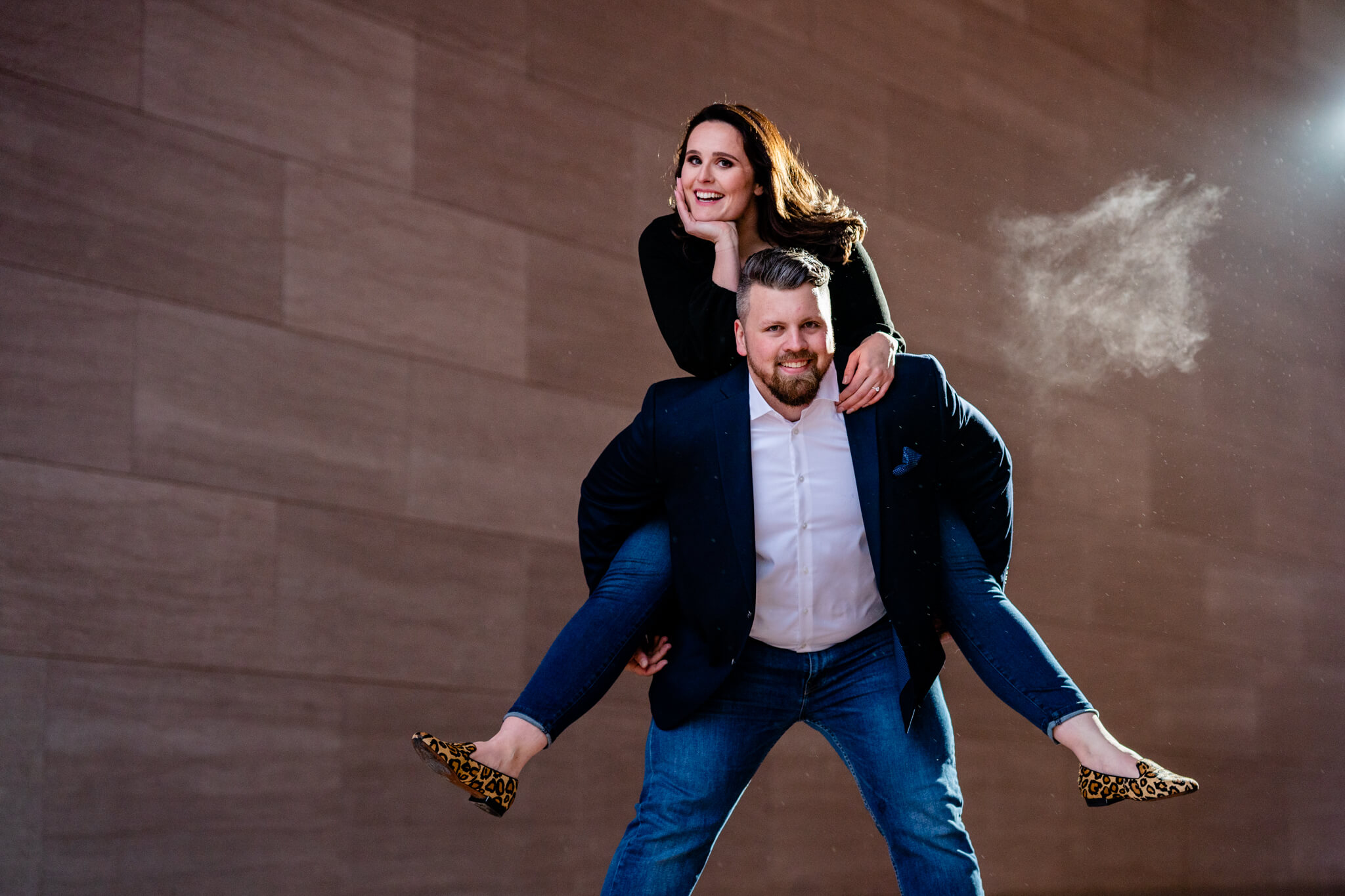 National Gallery East Engagement Session DC Engaged Art Museum Engagement Winter Engagement Session-12.jpg